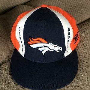 NFL Denver Broncos ball cap hat Size 7 3/4